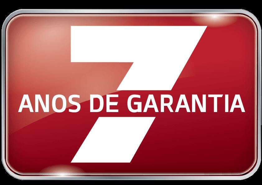 7 Anos de Garantia