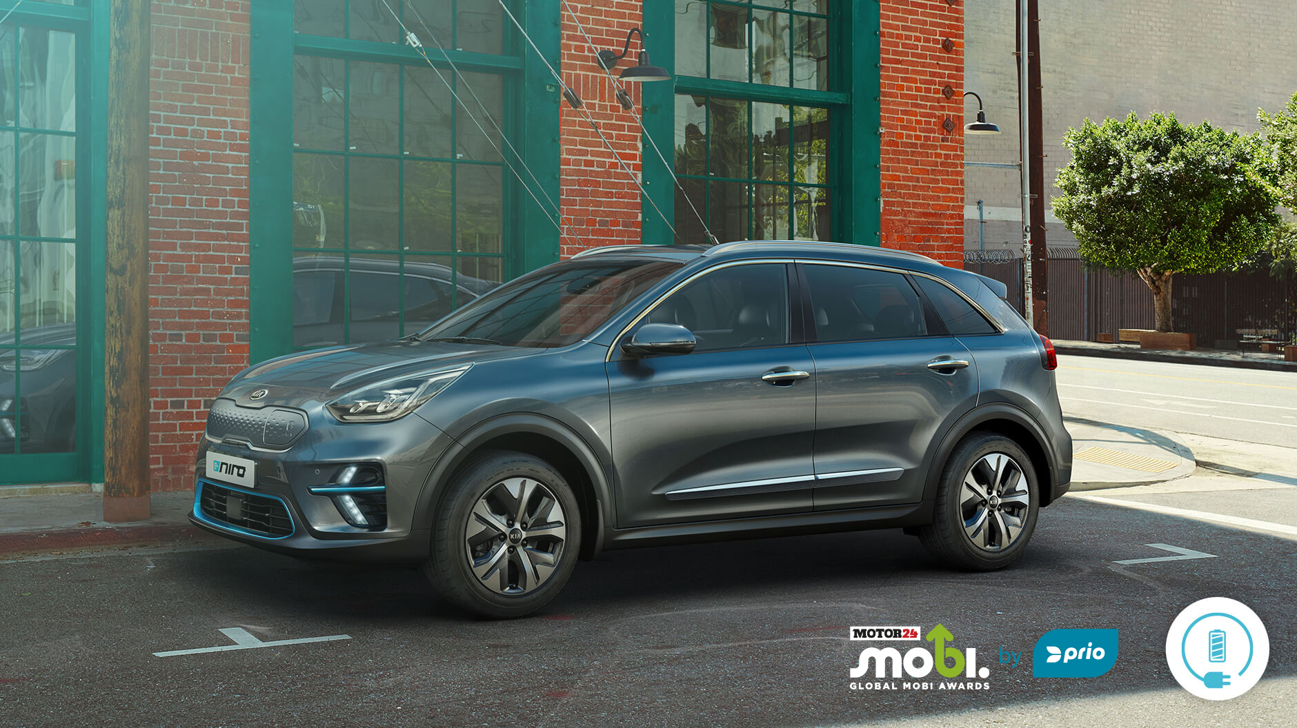 The new Kia e-Niro.