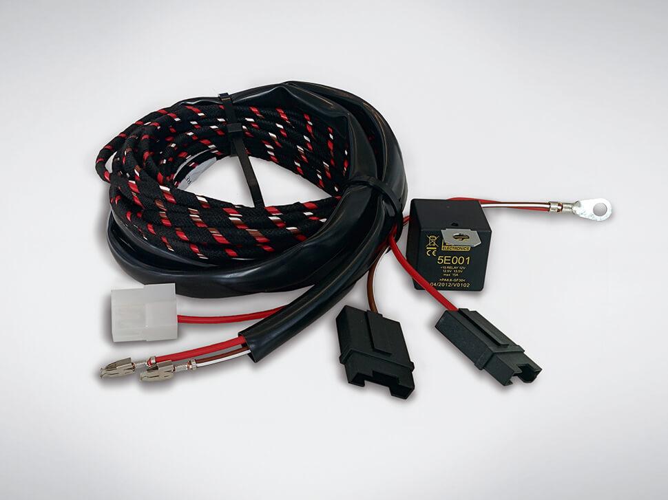 Extensão kit eléctrico +15/30 (Para caravanas)