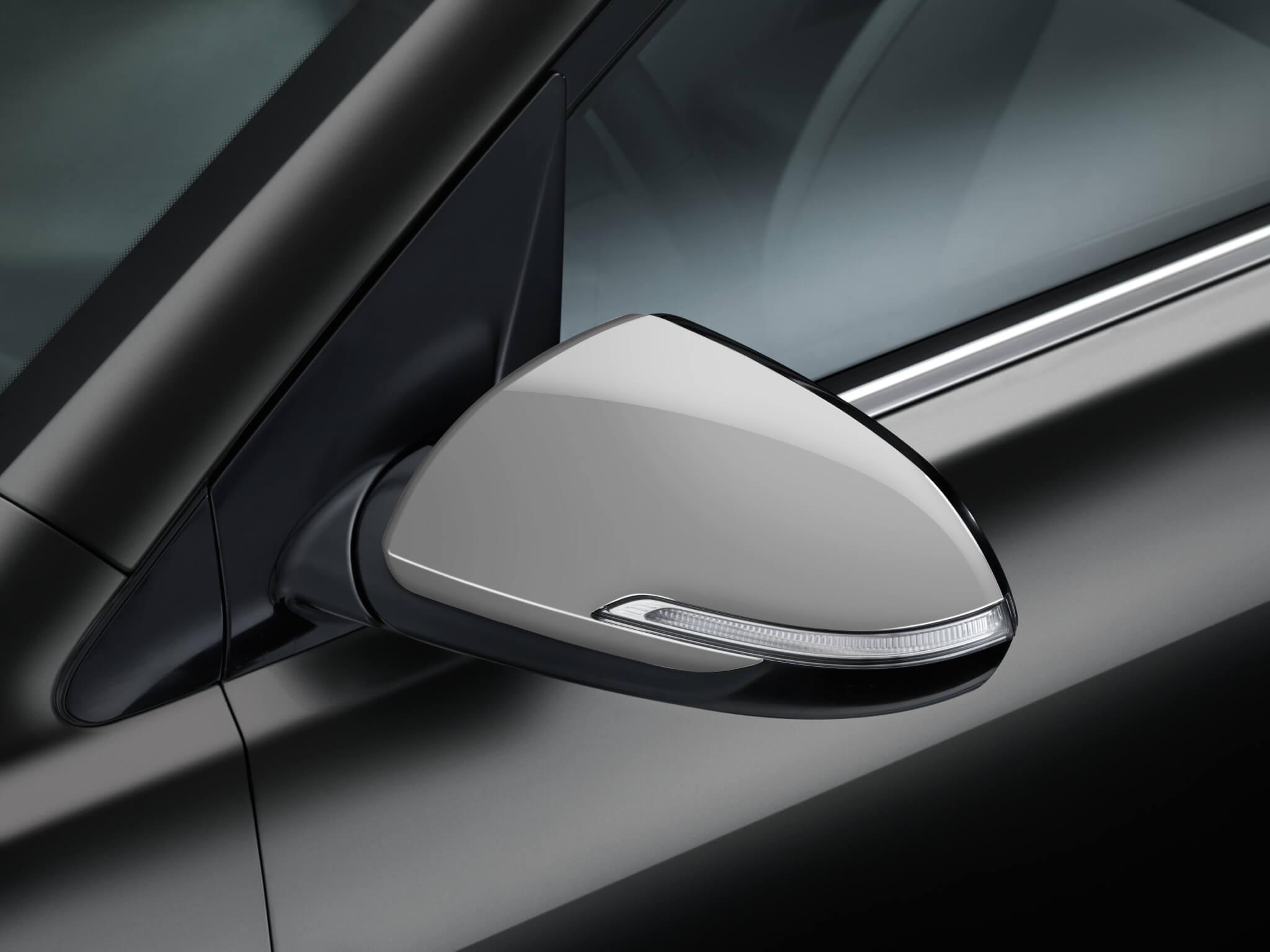Capa espelho - Prateado (requer Fix kit 2) - Para viaturas c/ piscas nos espelhos