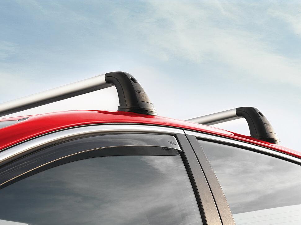 Barras tejadilho aluminio 5P (Para viaturas sem tecto panoramico)