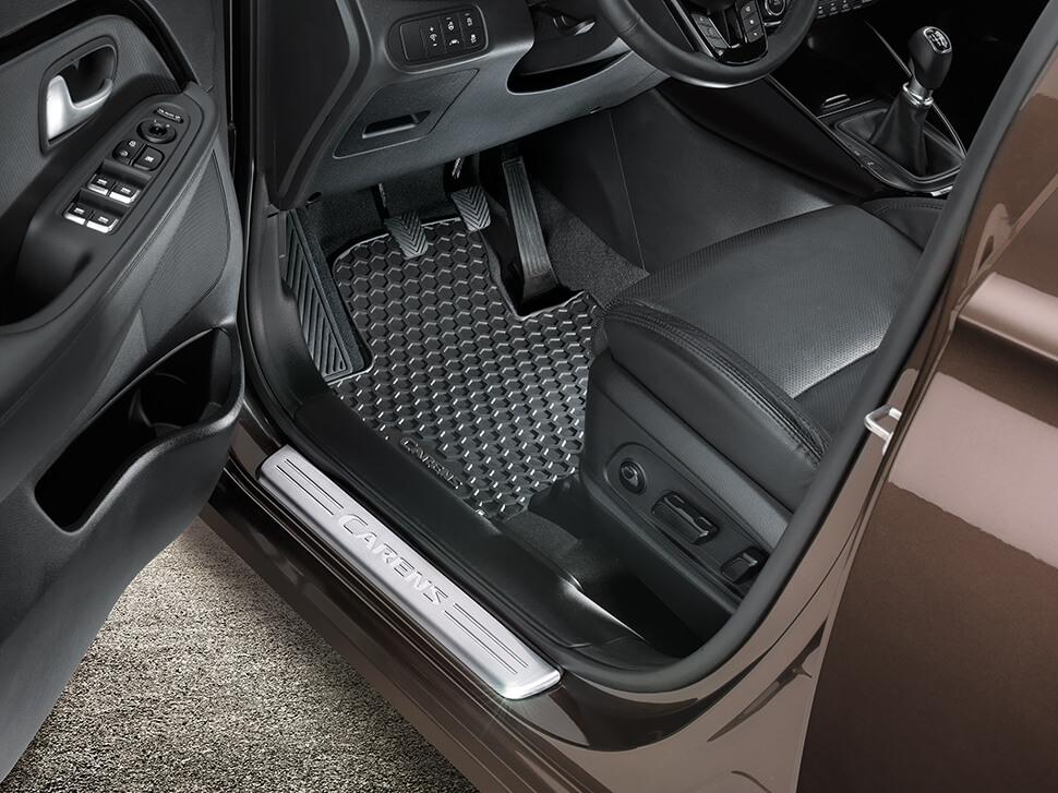 Protecção de entada de porta dianteira