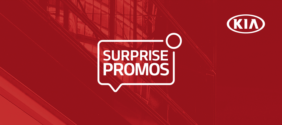 KIA Surprise Promos